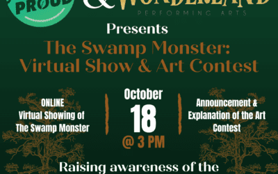 Parish Proud and Wonderland Performing Arts Announce The Swamp Monster Showing and Button Contest