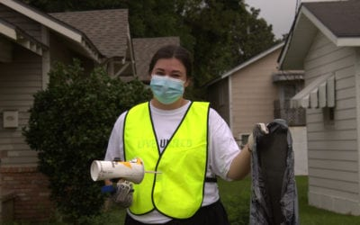 Day of Action Brings Fun to Litter Clean-ups