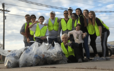 Stuller Family Foundation Picks up Litter Regularly