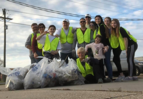 Stuller Family Foundation Picks up Litter Regularly