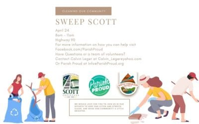Parish Proud and Partners to Host Cleanup in Scott